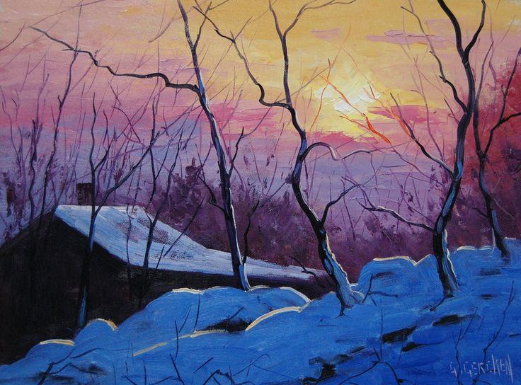 Graham Gercken: Téli hajnal