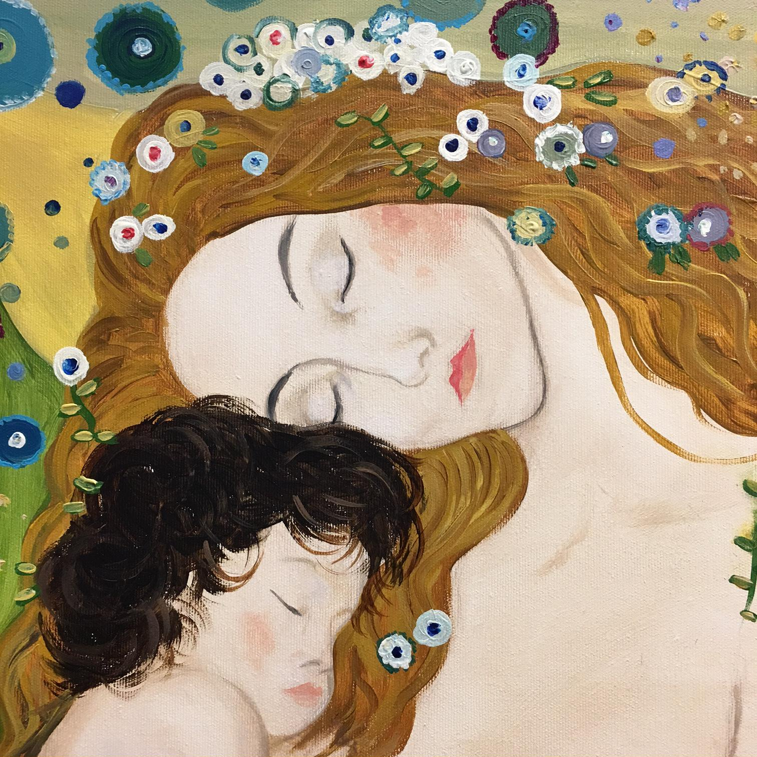 Gustav Klimt: Mother and child