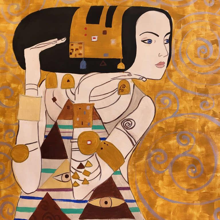 Gustav Klimt: Várakozás