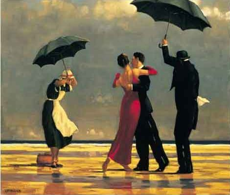 Jack Vettriano: Singing butler