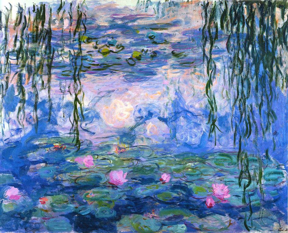 Claude Monet: Tavirózsák