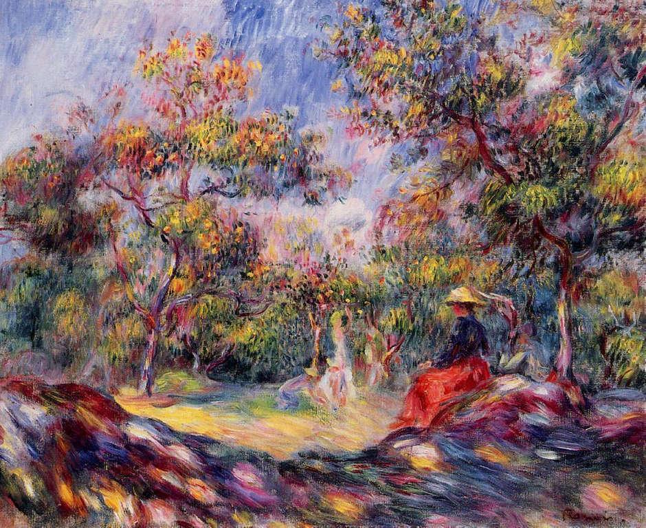 Pierre-Auguste Renoir: Hölgy a réten