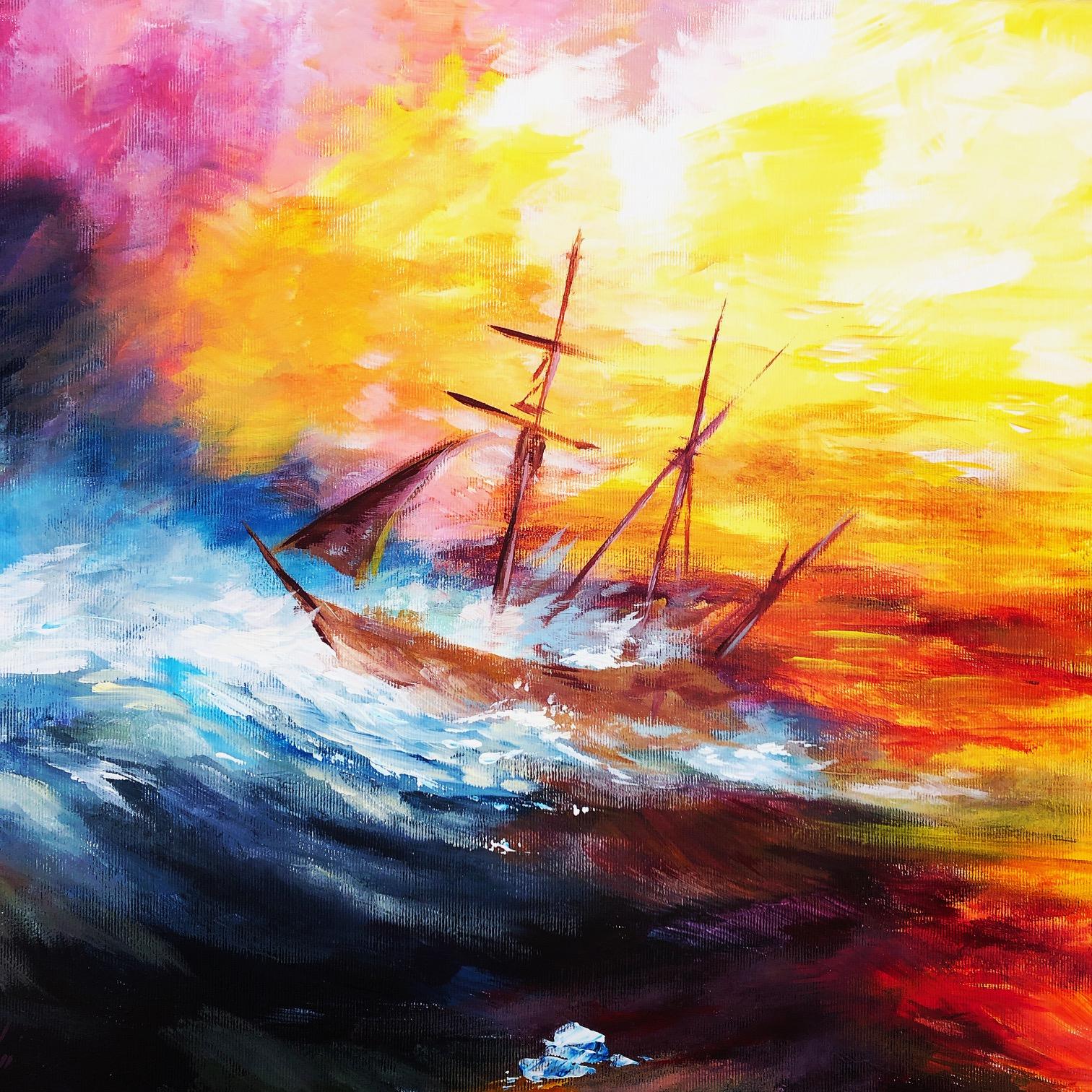 William Turner: Vihar a tengeren