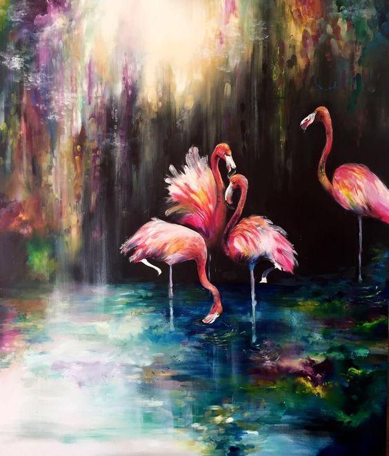 FessNeki: Flamingók tánca
