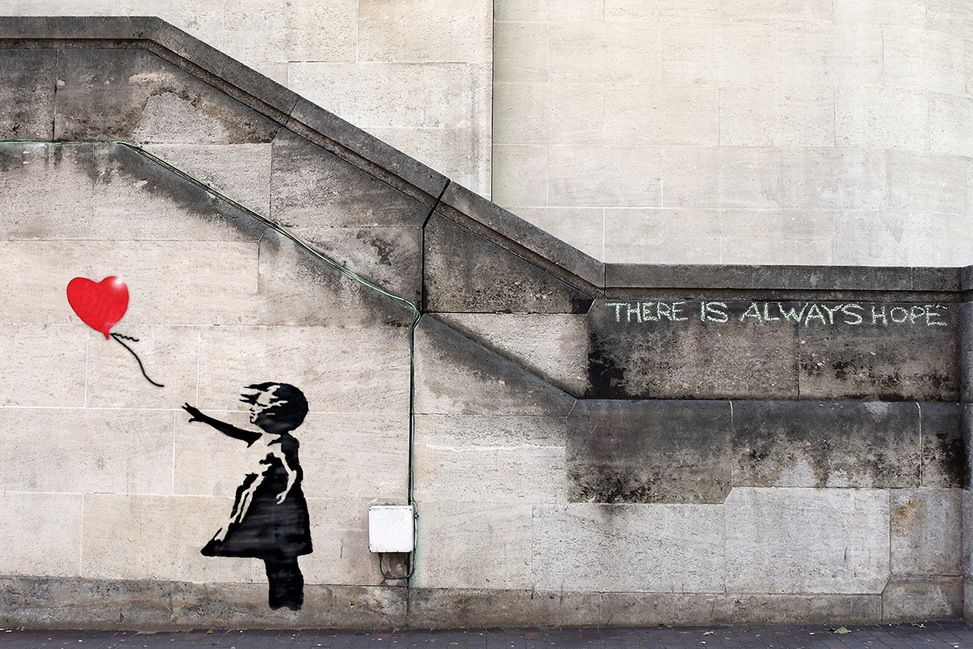 Banksy: There is always hope