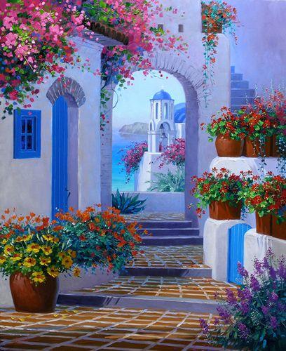 FessNeki: Santorini