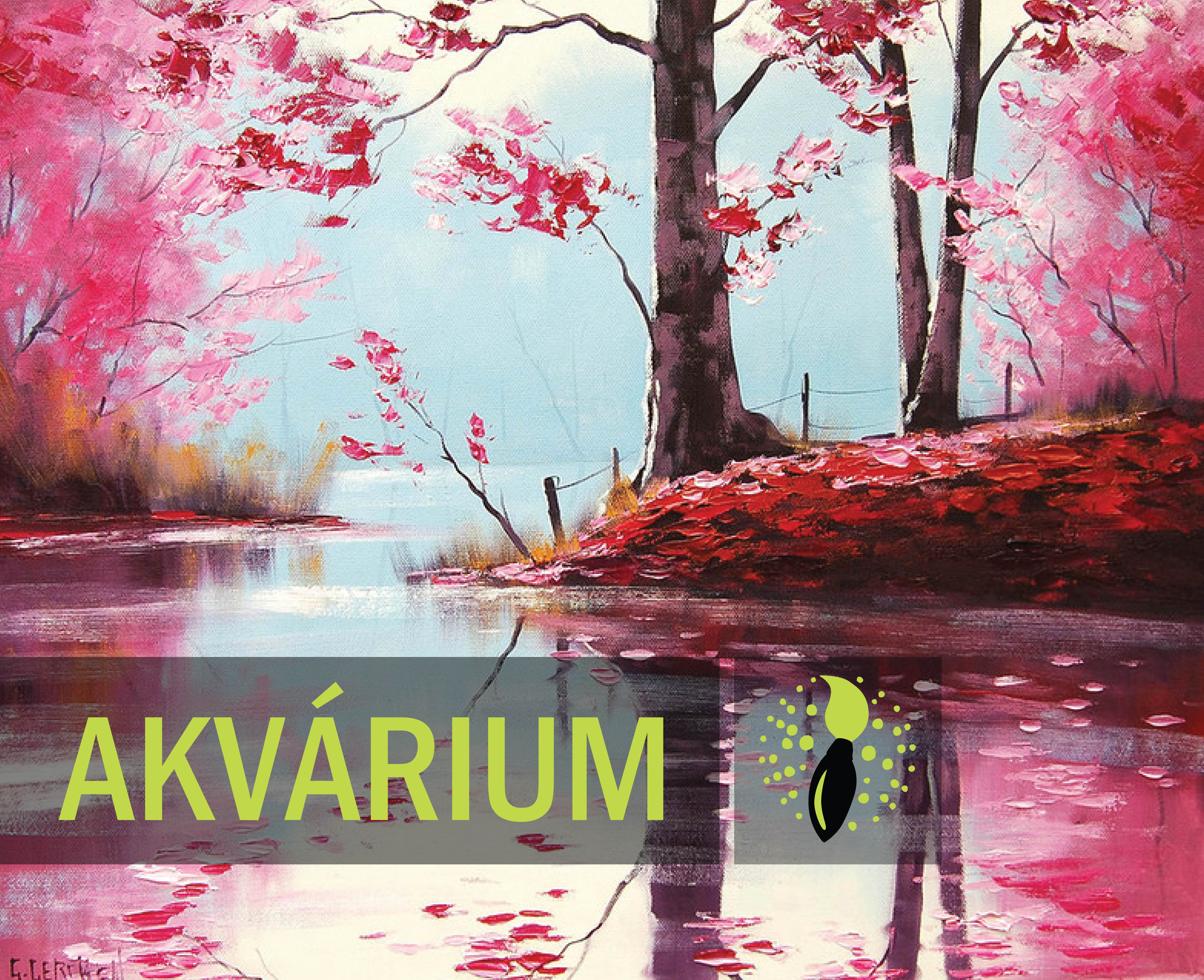 Graham Gercken: Spring in the bloom - AKVÁRIUM