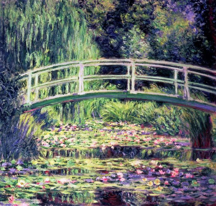 Claude Monet: Japán híd
