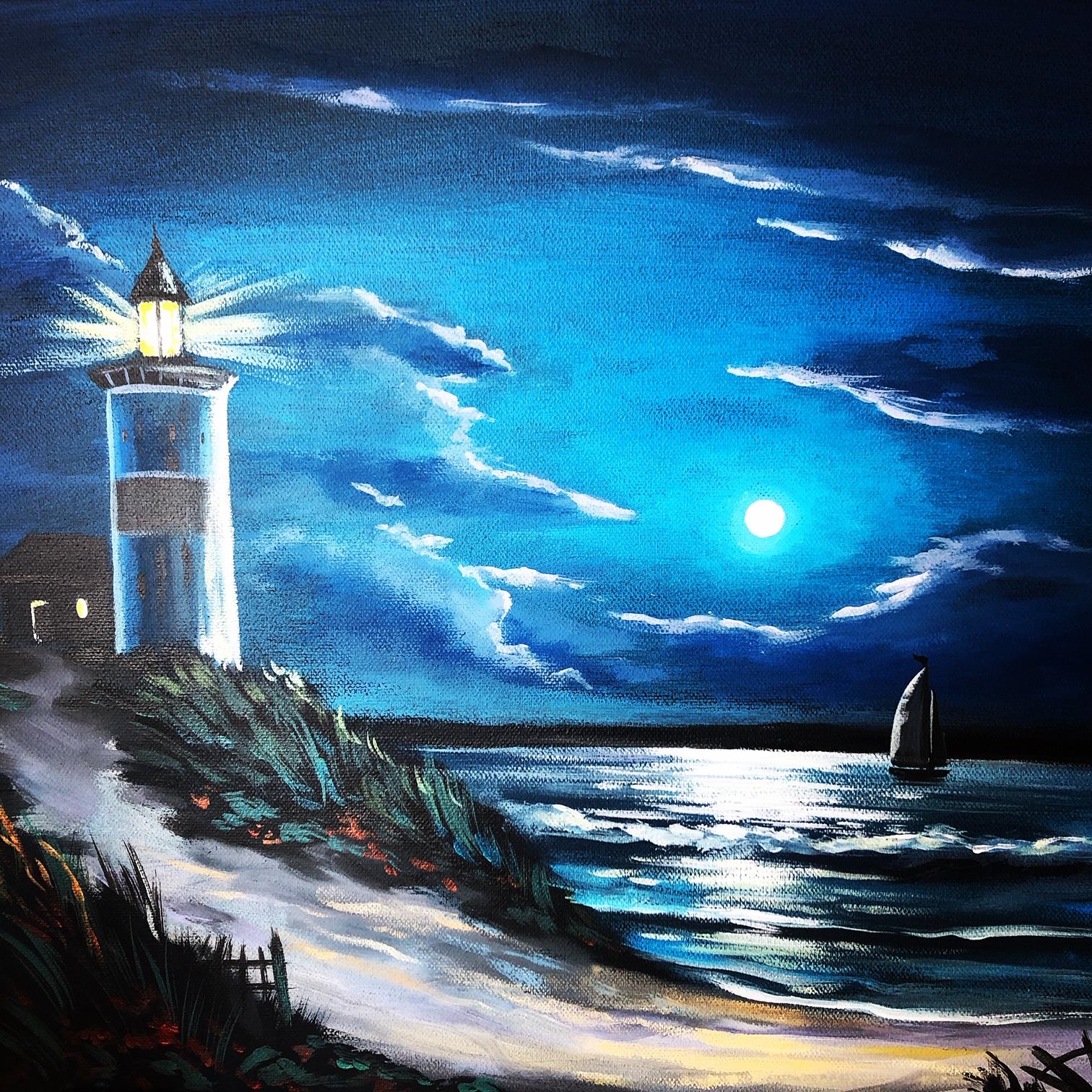 FessNeki: Éjjel a vízen