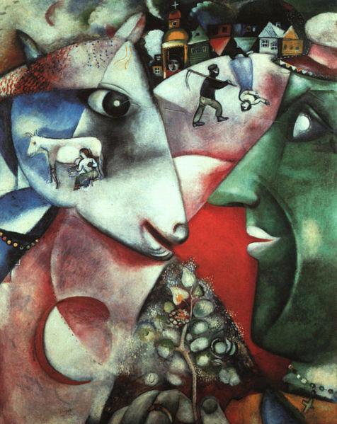 Marc Chagall: Én és a falu