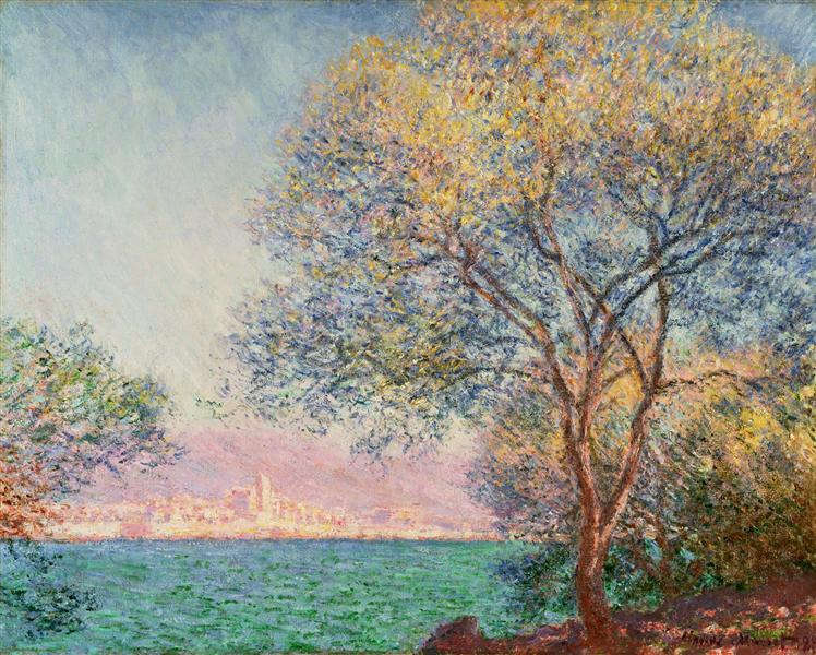 Claude Monet: Antibes reggel