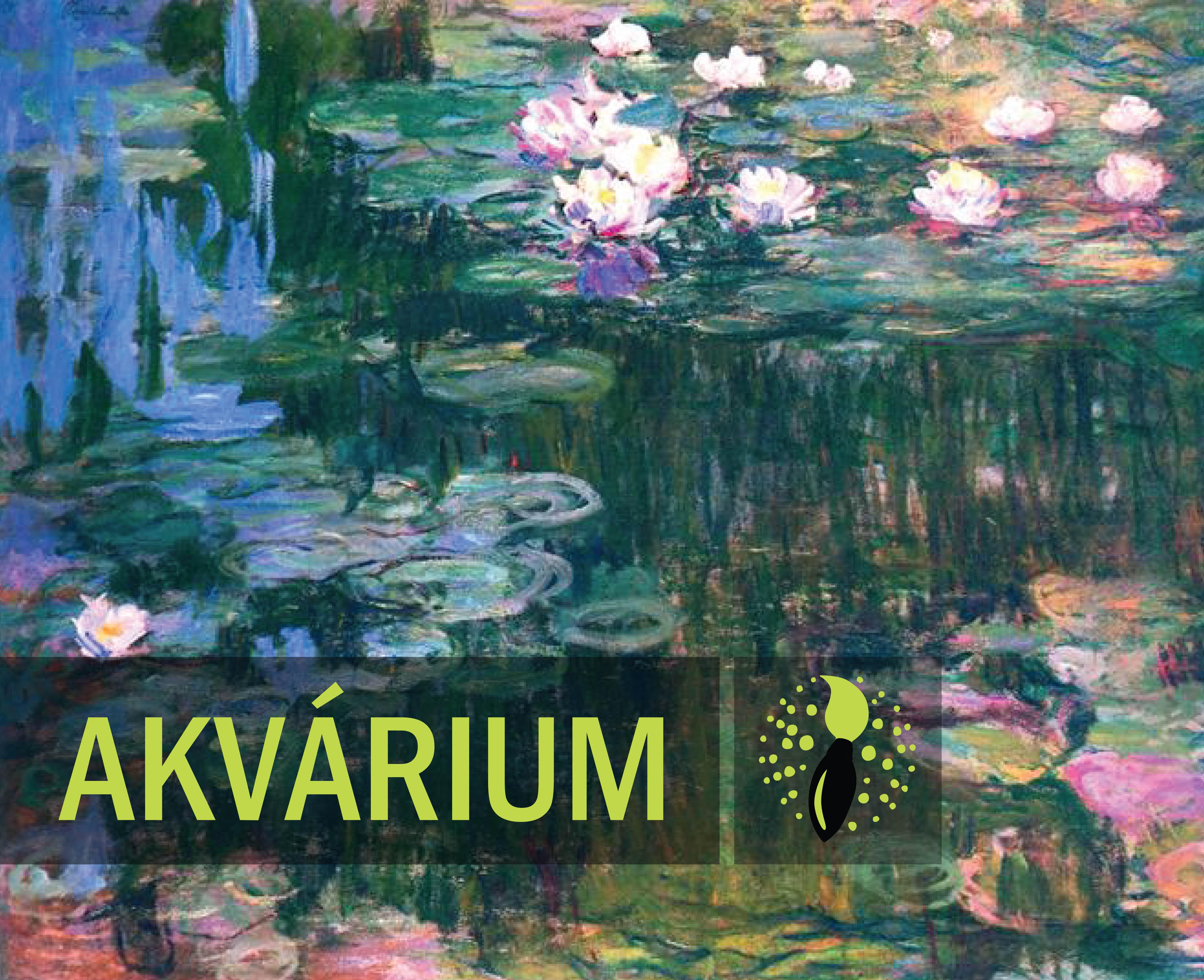 Claude Monet: Waterlillies at dawn - AQUARIUM