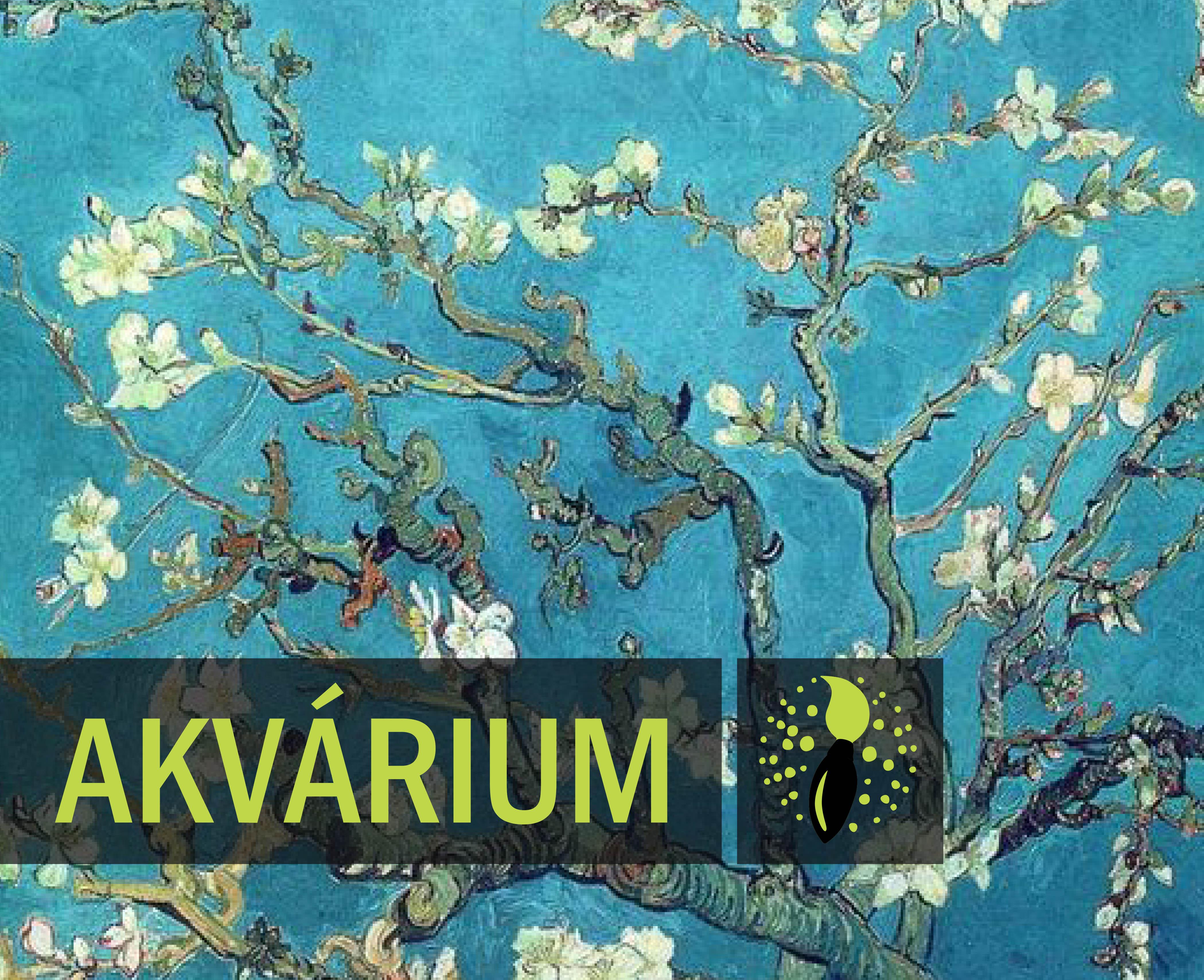 Vincent van Gogh: Almond Blossom (AKVÁRIUM)