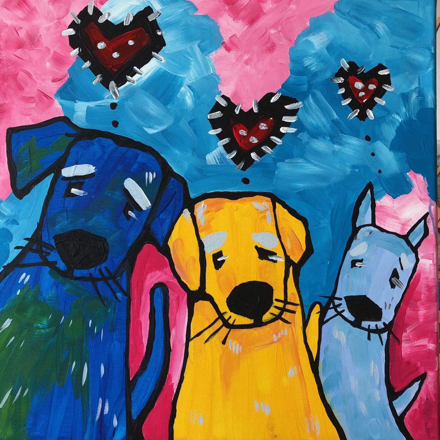 FessNeki: Love dogs