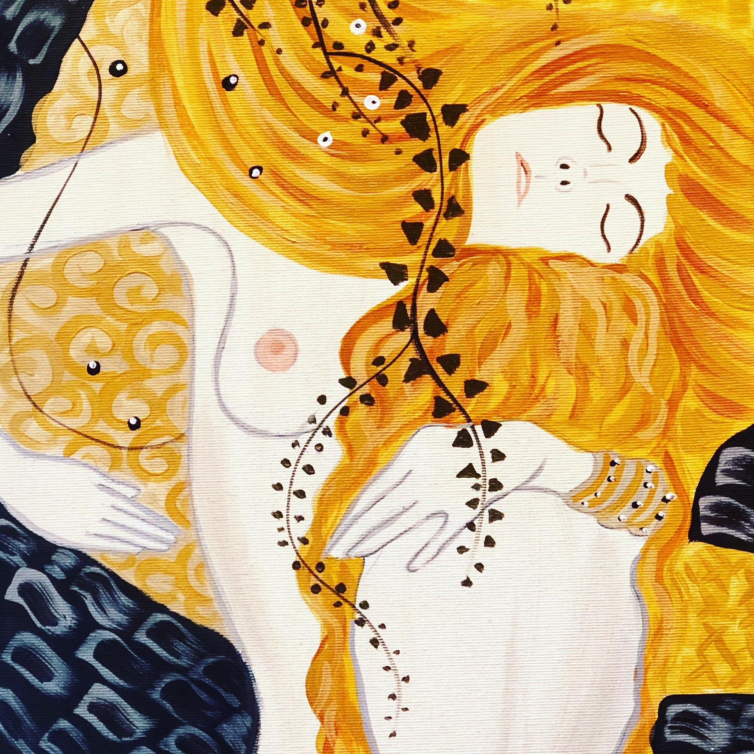 Gustav Klimt: Vizikígyók