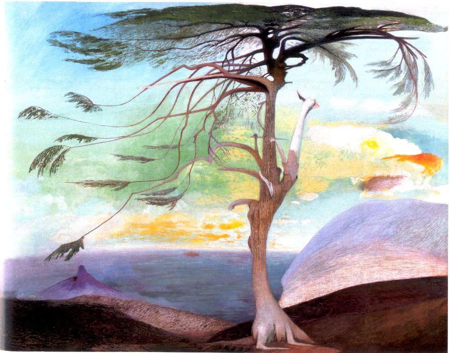 Kosztka Tivadar Csontváry: The lonely cedar