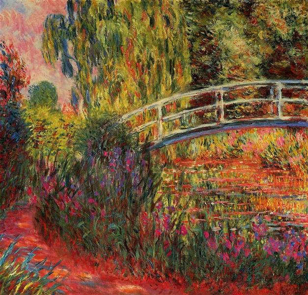 Claude Monet: Híd Givernyben