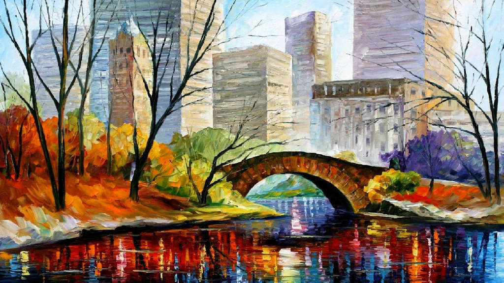 Leonid Afremov: Central Park