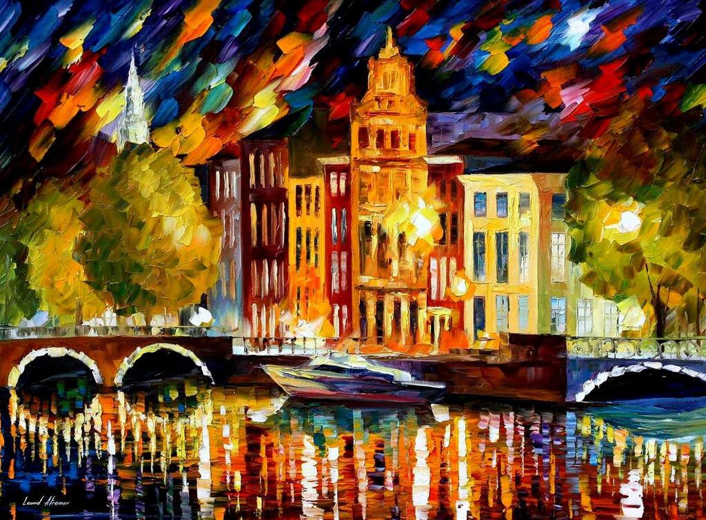 Leonid Afremov: Amsterdam