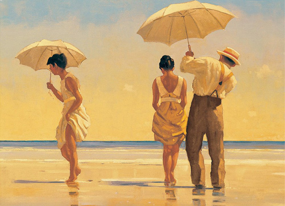 Jack Vettriano: Mad dogs