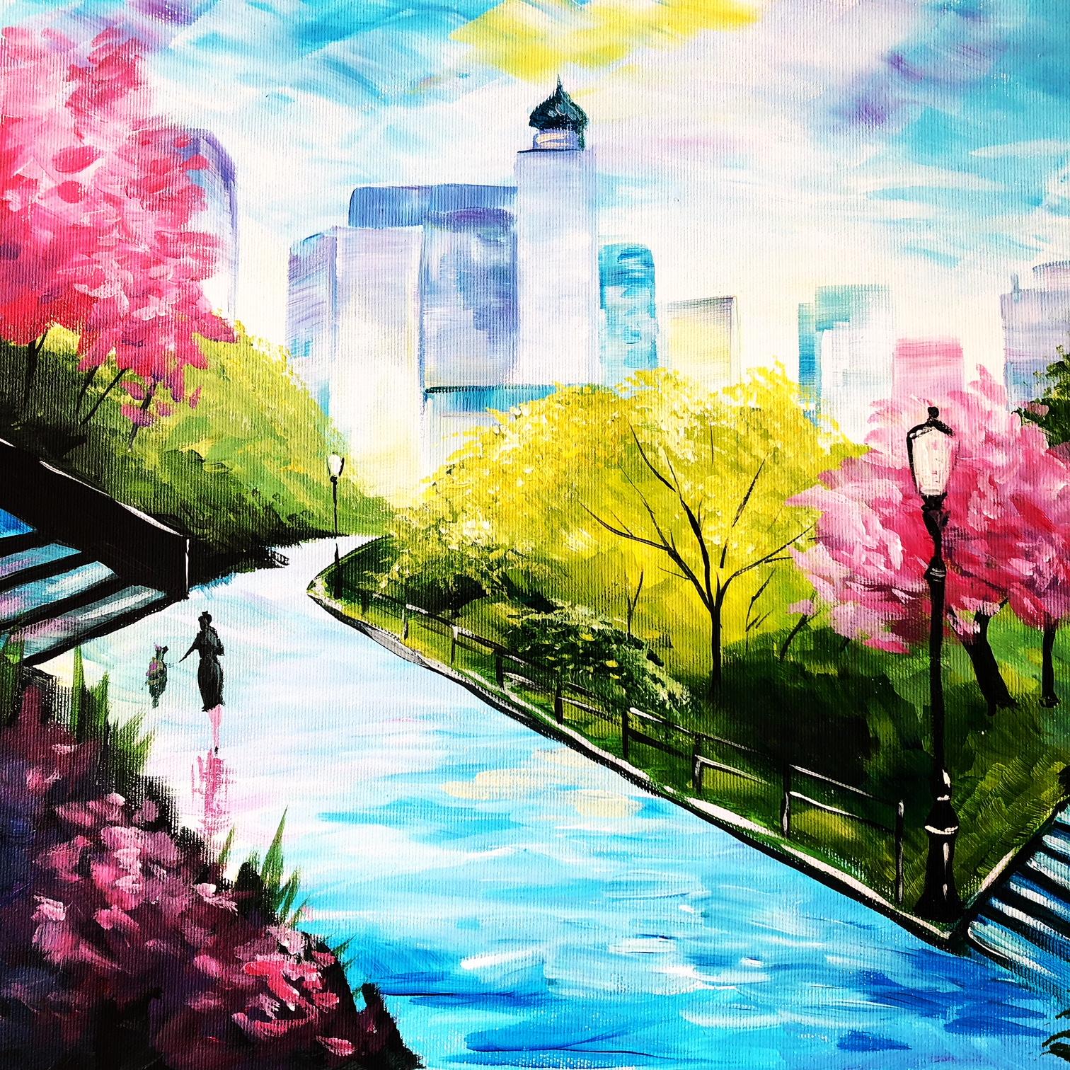 Daniel Wall: Tavasz New Yorkban