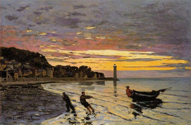 Claude Monet: Halászok a parton