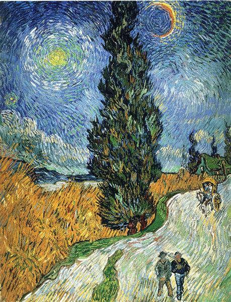 Vincent van Gogh: Falusi út Provanceban