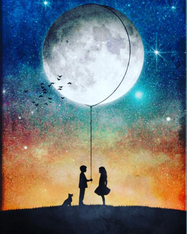 FessNeki: To the moon and back