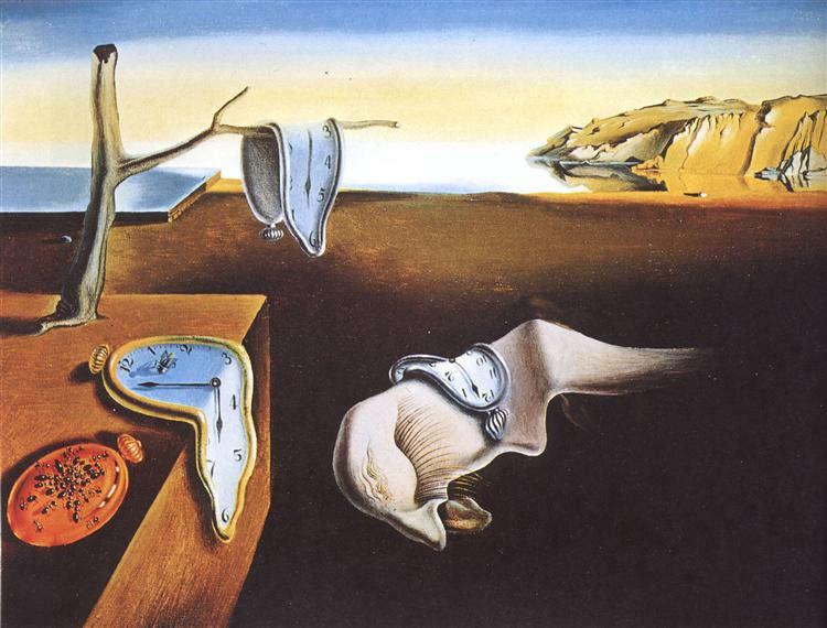 Salvador Dalí: Elfolyó idő