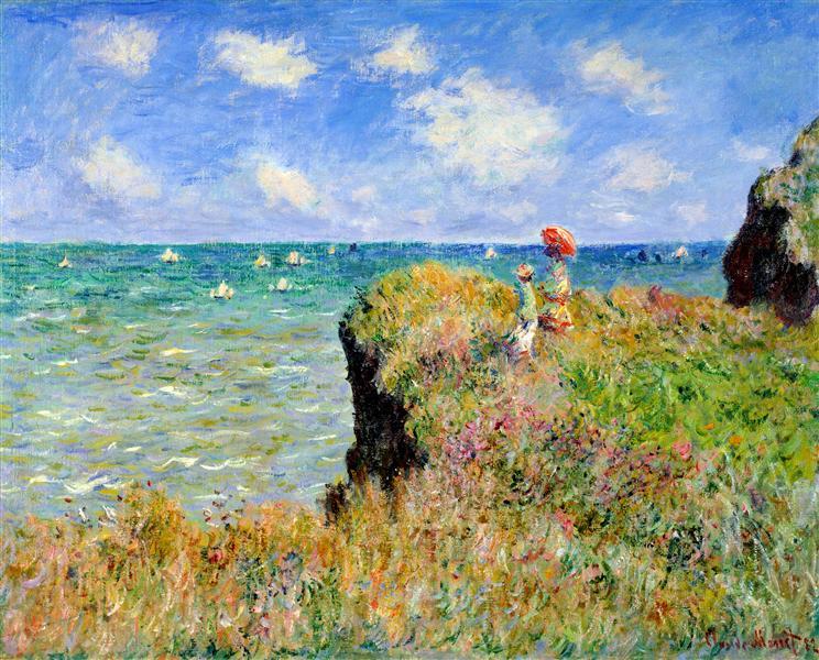 Claude Monet: Séta a kőszirten