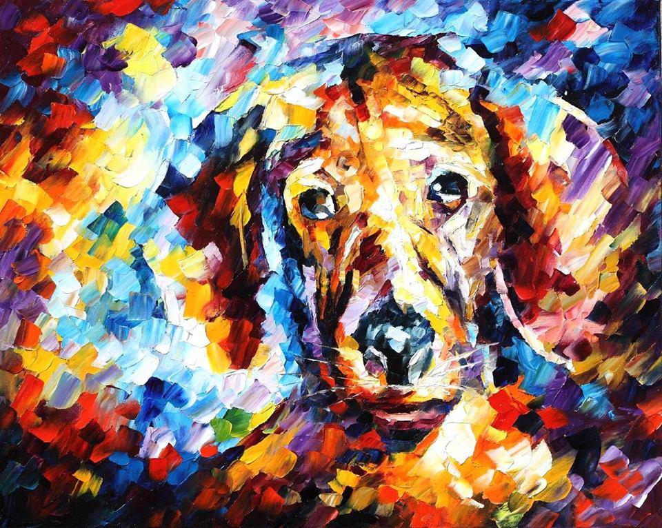 Leonid Afremov: Az én kutyám