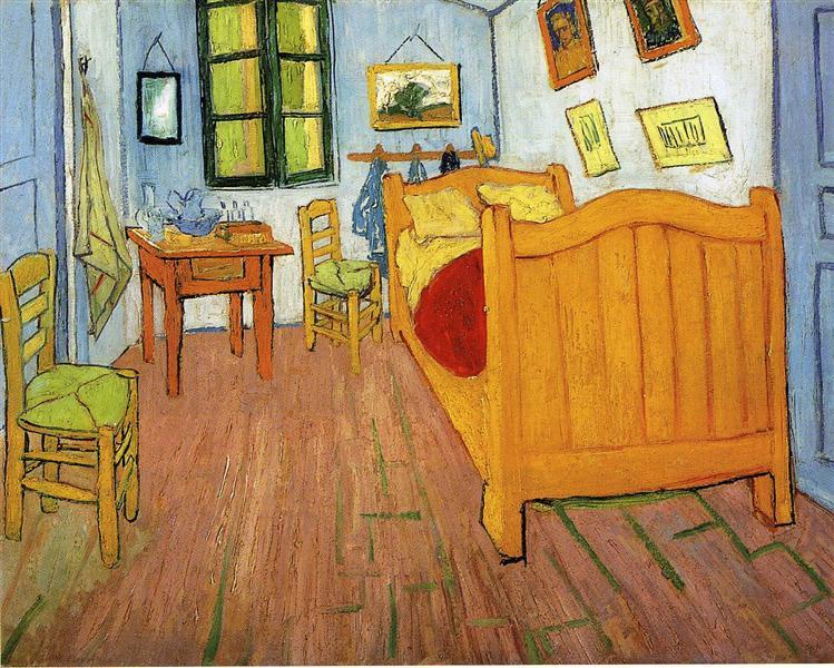 Vincent van Gogh: Vincent's bedroom in Arles