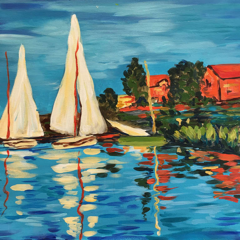 Claude Monet: Regatták